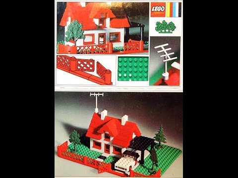 Lego Instructions For House With Car Set 346 2 1969