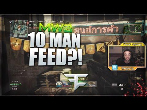 FaZe Agony: 10 MAN FEED?! (MW3 Clips & Funny Moments)
