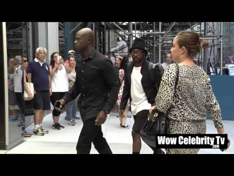 Will I Am Spotted at New York Fashion week Event