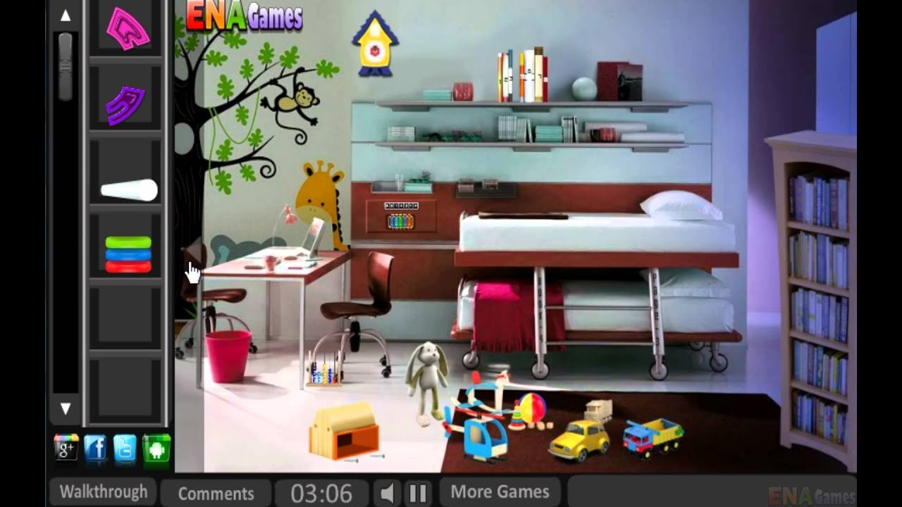 Escape from baby house walkthrough youtube for Minimalist house escape 3 walkthrough