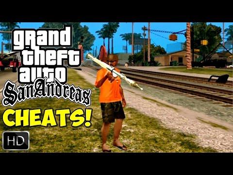 GTA San Andreas REMASTERIZADO HD - TODOS CHEATS. CÓDIGOS! (P/XBOX 360 - 720p) PT-BR