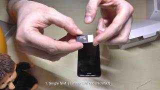Huawei P8 Lite (2017): How to insert the SIM card? Installion of the nano SIMs