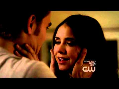 The Vampire Diaries | Season 2 Episode 11 | 2x11 | Elena's And Stefan's Kiss Scene video