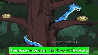 Crow & Snake | Bengali Panchatantra Tales | Bengali Stories For Kids HD