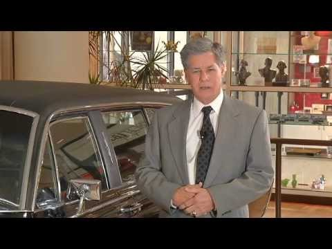 Secret Service Special Agent Bill Hanks and the LBJ Presidential Limousine