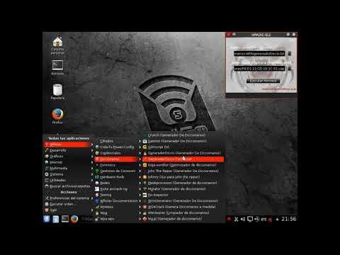 CREAR DICCIONARIOS EN WIFISLAX - DICCIONARIOS LO NUEVO WPA/WPA2