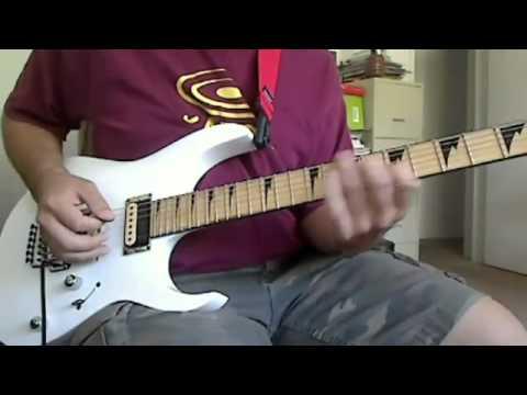 Shinobi III Whirlwind hard rock guitar cover Video Game music cover