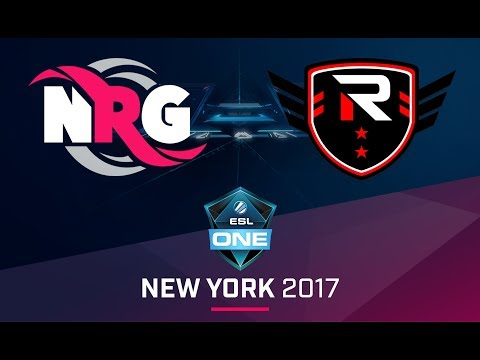 CS:GO - NRG vs. Rise Nation [Nuke] Map 1 - Quarterfinal - ESL One New York NA Qualifier