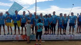 Salsa DragonBoat Europe Championship,  1st place