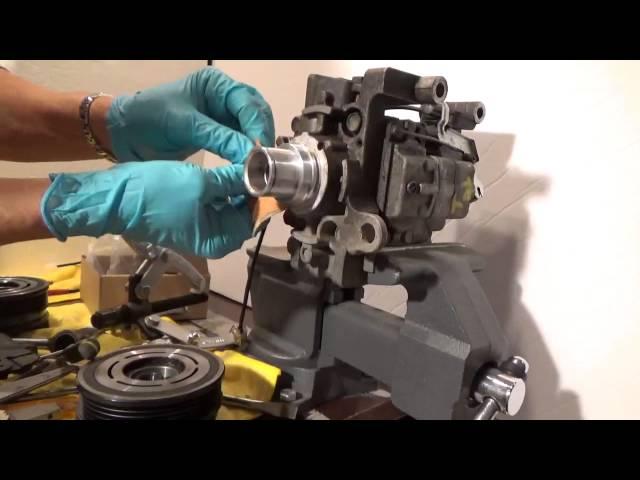 MAZDA 3 AC COMPRESSOR CLUTCH REPAIR - YouTube