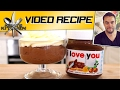 Nutella Mousse - Valentines Day Recipe only 3 Ingredients!