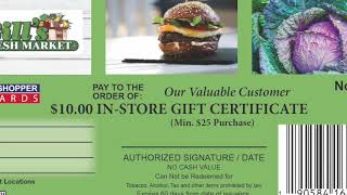 Bills Fresh Market Smart Shopper Rewards Proposal