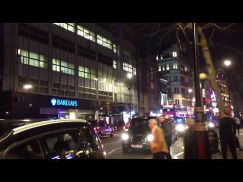 Metropolitan Police in Soho, London