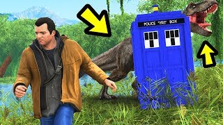 Playing GTA 5 as a TIME TRAVELLER!!
