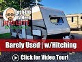 Barely Used 2019 KZ 1800QB Mini Travel Trailer with Hitch Included!