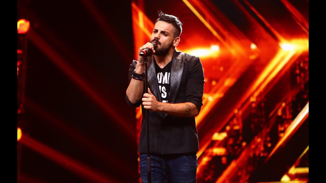 Ed Sheeran - I See Fire. Vezi interpretarea lui Mirko Oliva, la X Factor!