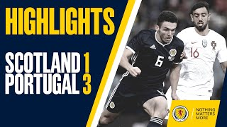 HIGHLIGHTS | Scotland 1-3 Portugal