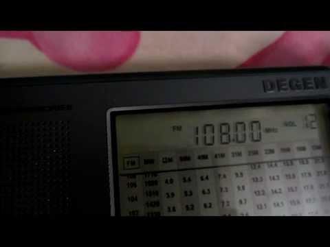 Тест FM приемников в условиях г. Полтава (Sony XDR-F1HD, Eton G8, Degen 1103) ч.2