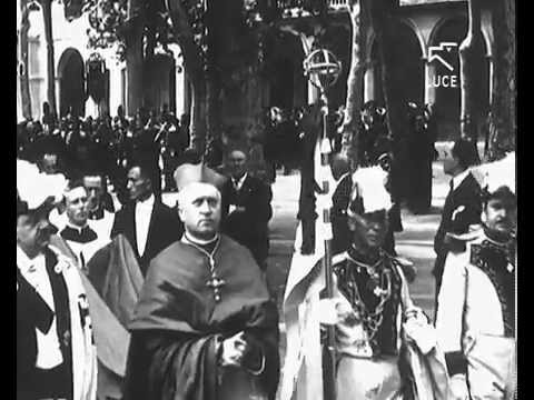 1929, Processione in onore del beato don Bosco