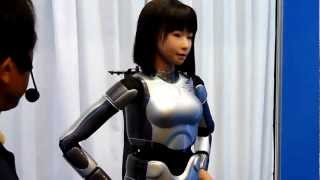 HRP-4C Female Robot Dances, Sings, Frightens - HOT!