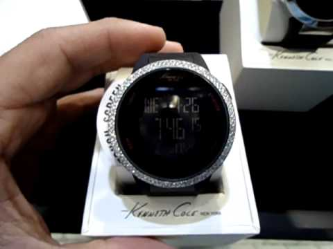 Mr Chris Da jeweler Custom Kenneth Cole Touch Screen Digital Watch