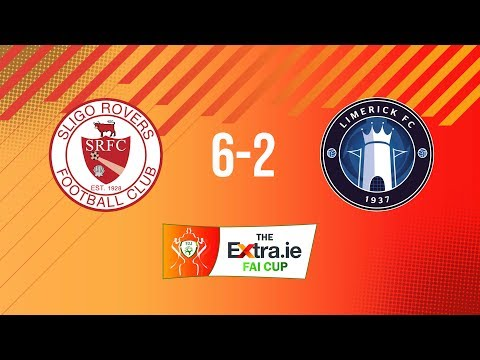 Extra.ie FAI Cup Second Round: Sligo Rovers 6-2 Limerick