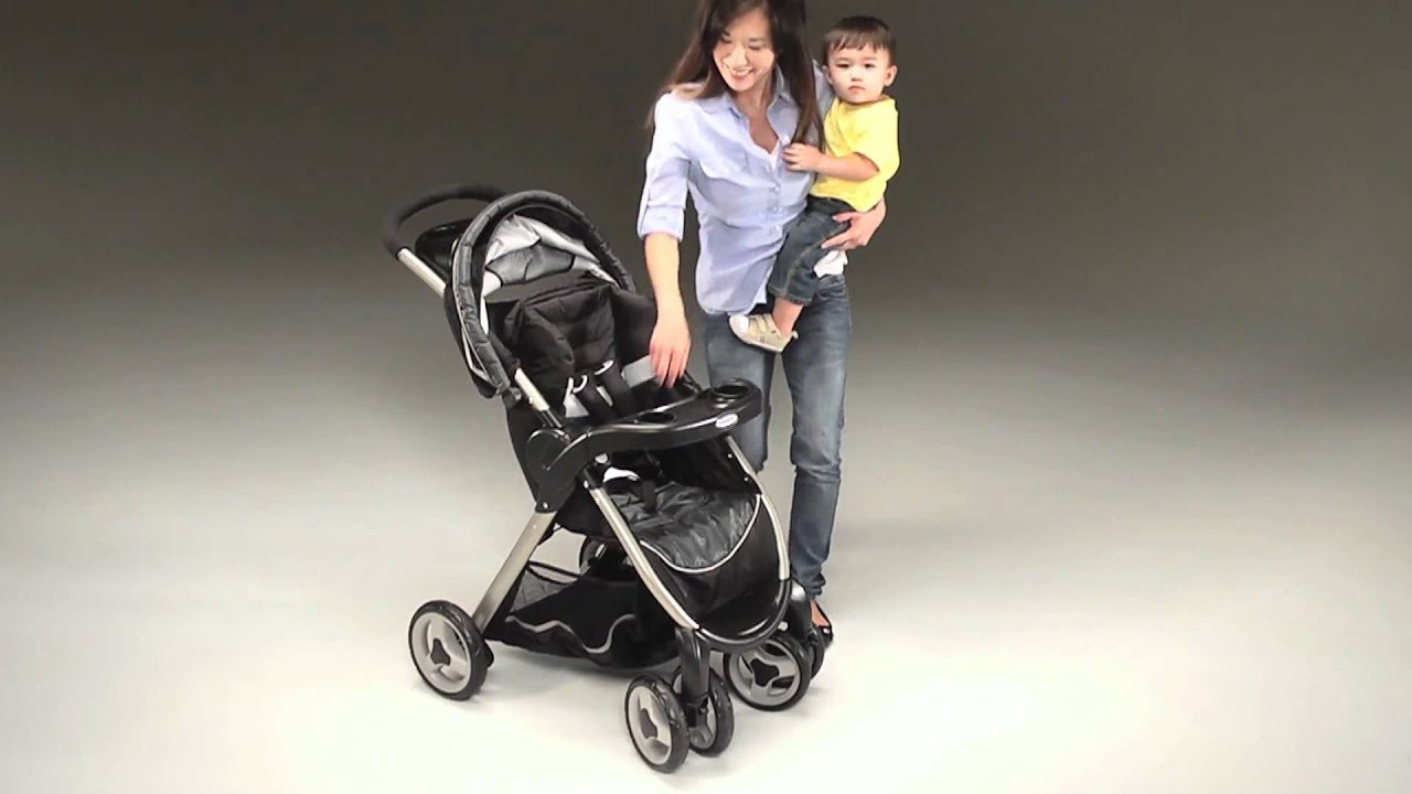Fastaction Fold Stroller By Graco Youtube
