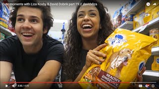 Cute moments with Liza Koshy & David Dobrik part 19 // davidxliza