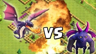 MINION vs. DRACHE! - Dumme Idee! :D || Clash of Clans [Deutsch/German HD+]