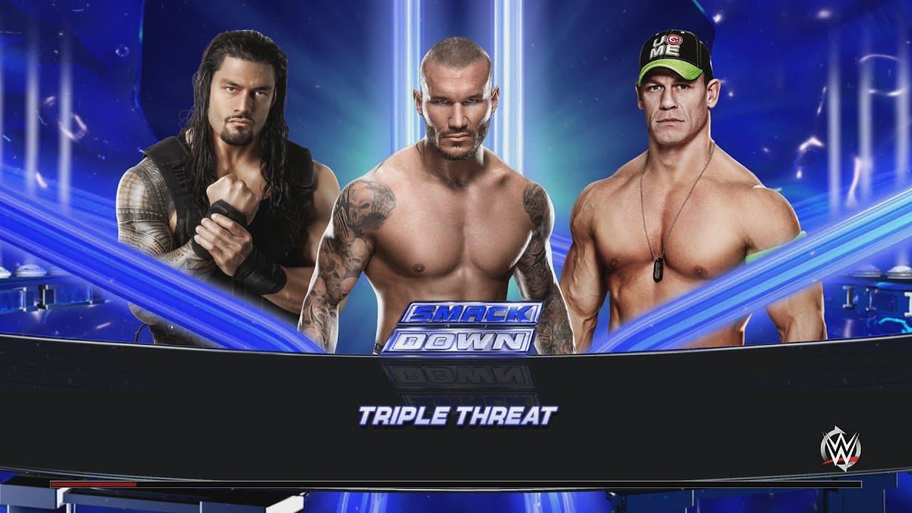 Wwe 2k15 Randy Orton vs John Cena Randy Orton vs John Cena
