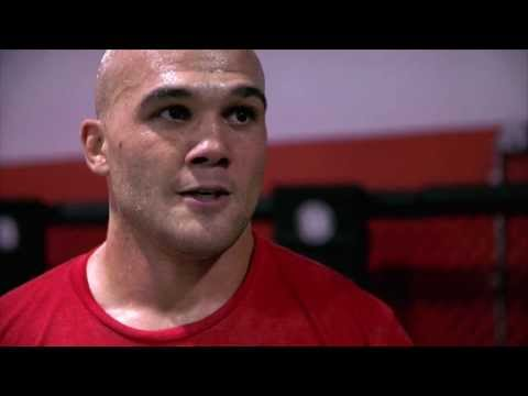 UFC 171 Robbie Lawler Training Day Part 2