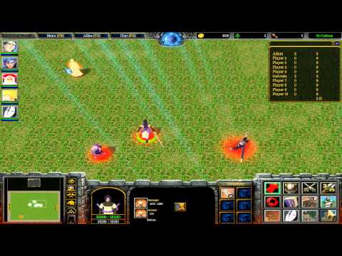 Warcraft III: TFT - Naruto Battle Royal - 42 - Turnajek S01E05 - Looser Orochimaru