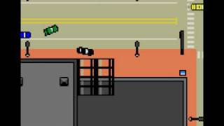 Driver (Game Boy Color) Playthrough - Mission 1: The Bank Job