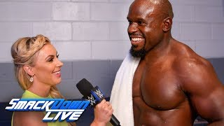 Apollo Crews on shutting Andrade & Vega up: SmackDown Exclusive, July 16, 2019