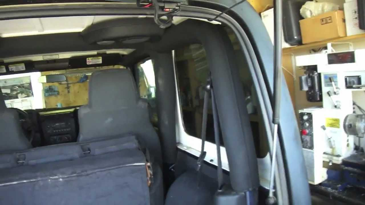Installing Lift Gate Hinges Decals And Randomness Youtube