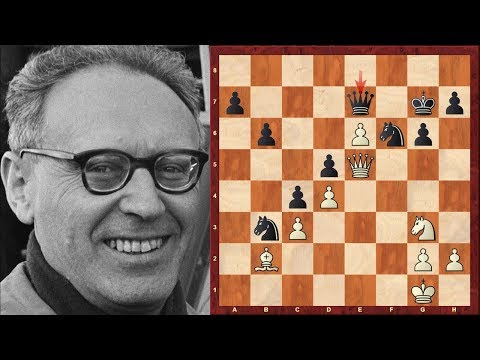 Mikhail Botvinnik Top Eight Chess Sacrifices!