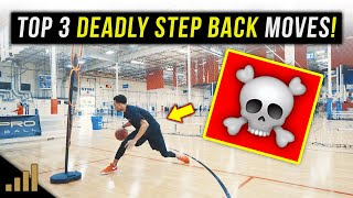 How to: 3 Simple But DEADLY Step Back Jump Shot Basketball Moves!