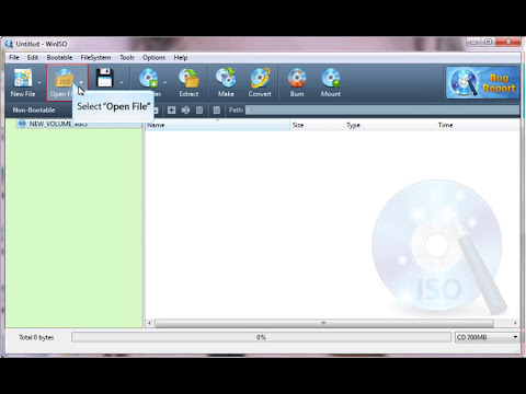 How to make ISO file from your CD, DVD, BD with WinISO