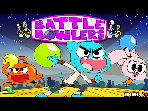 The Amazing World Of Gumball - Battle Bowlers Full Episode Gameplay video