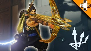 *NEW* HANZO ABILITY? MULTISHOT?! Overwatch Funny & Epic Moments 461