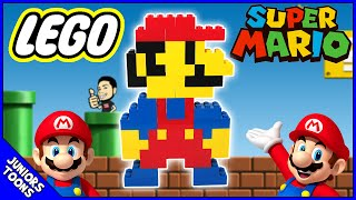 Mario Lego Build Stop Motion Morphing Animation | JUNIORS TOONS