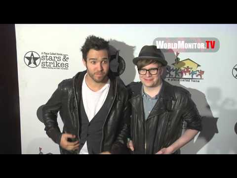 Fall Out Boy Pete Wentz, Patrick Stump Stars & Strikes Celeb Bowling Tournament 2013