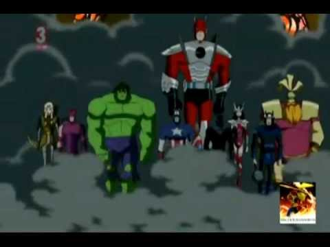 Avengers Emh: Revolution (generator Rex Song) video