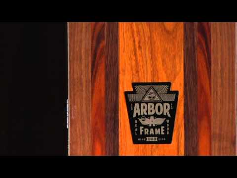 arbor snowboards product profiles a frame