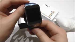 [UNBOXING] NO.1 G2 Smart Watch How to charge samrtwacth and How to change watch bands