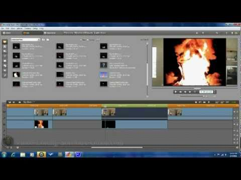 How To Make A Fire Effect - Pinnacle Studio 14 Ultimate Collection HD