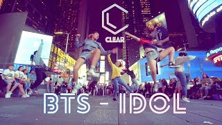 [KPOP IN PUBLIC CHALLENGE NYC | 4K] BTS (방탄소년단) - IDOL Dance Cover By CLEAR