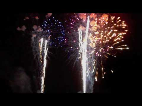 Independence Day Fireworks At Frontier Park - Finale!