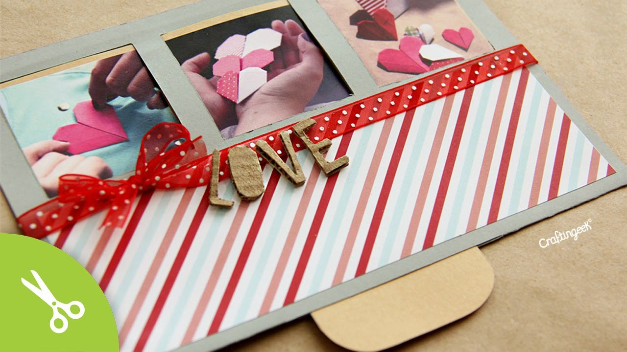 Tarjeta san valentin surprise slide valentines - Album para san valentin ...