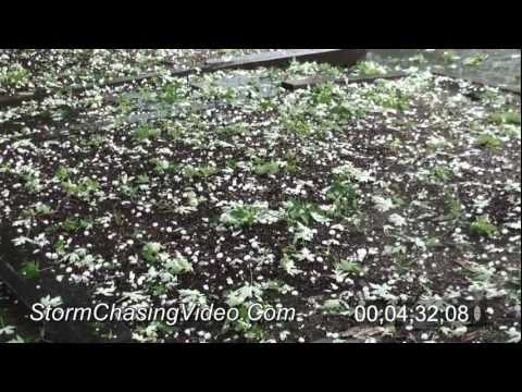 7/13/2011 Denver, CO area hail storm B-Roll